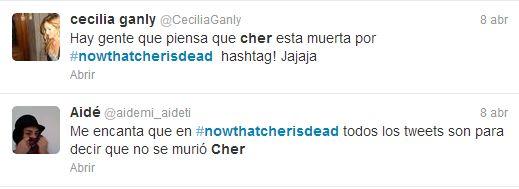 Thatcher Cher that Cher
