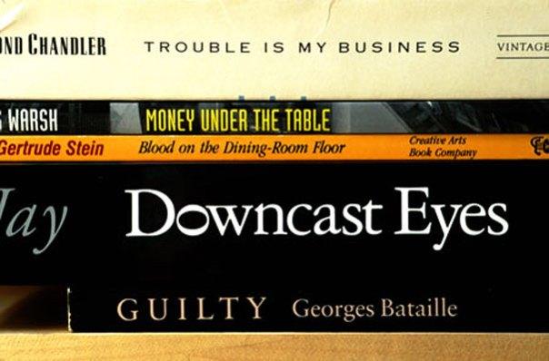 sorted books - poesía con libros