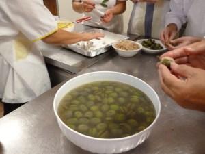 Oliven in allen Varianten