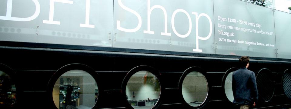 BFI Southbank Londres tienda