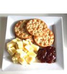 Gastronomía londinense Lancashire Cheese con cebolla caramelizada