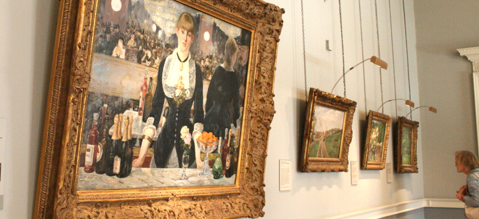 The Courtauld Gallery museo londres Manet