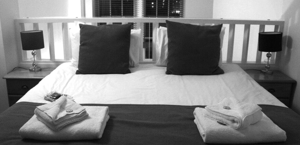 Festival de teatro de Edimburgo apartamento dormitorio