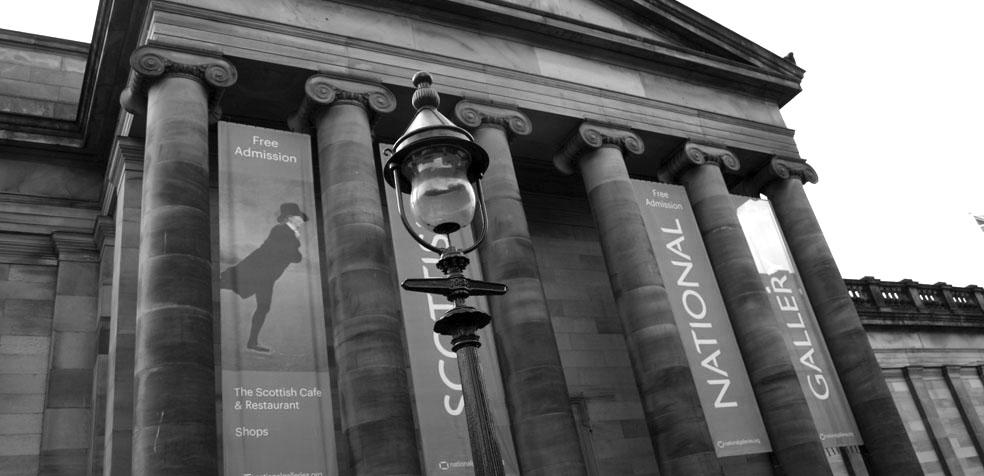 Festival de teatro de Edimburgo National Gallery