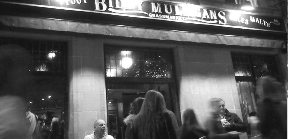 Festival de teatro de Edimburgo pub