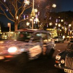 Taxis en Kings's Road, Chelsea