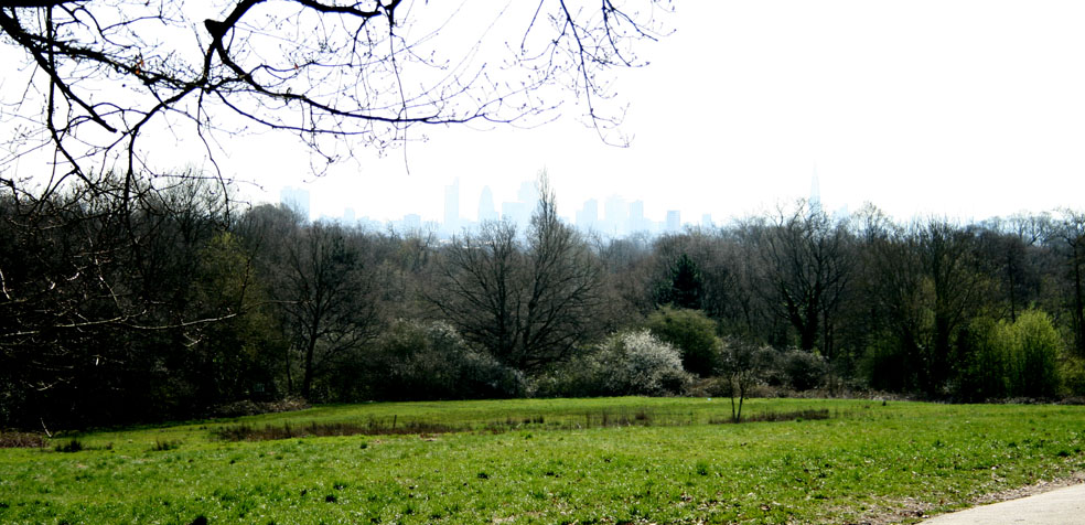 Hampstead Heath vistas City