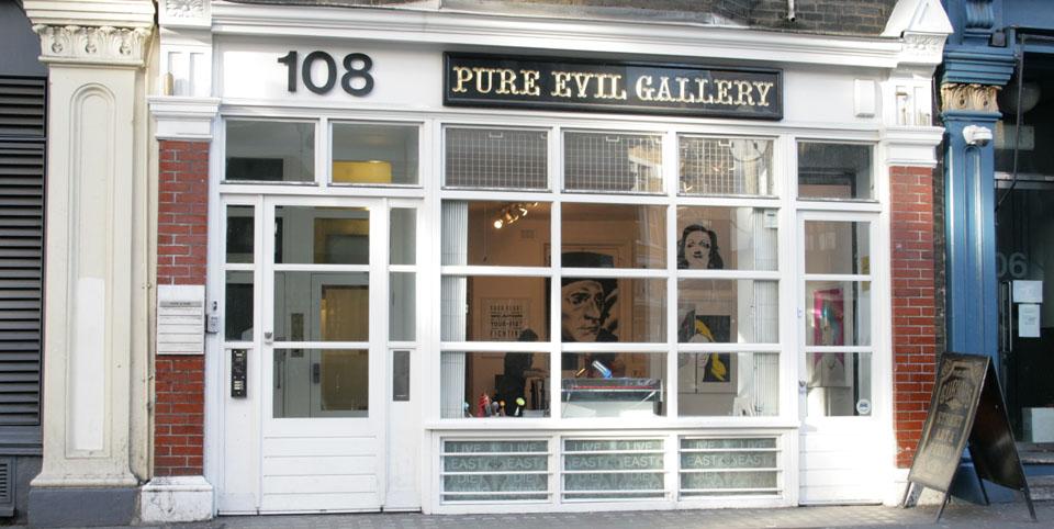 Tiendas de decoración de Londres Pure Evil