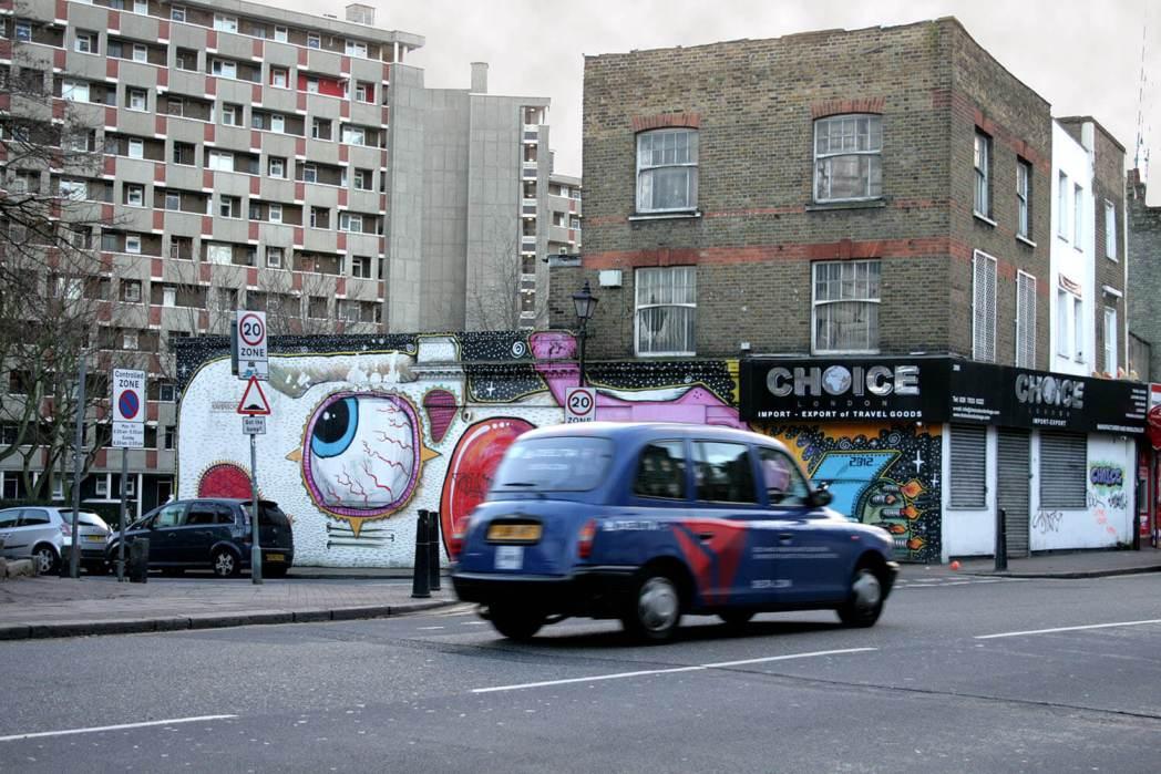 Londres más cool taxi