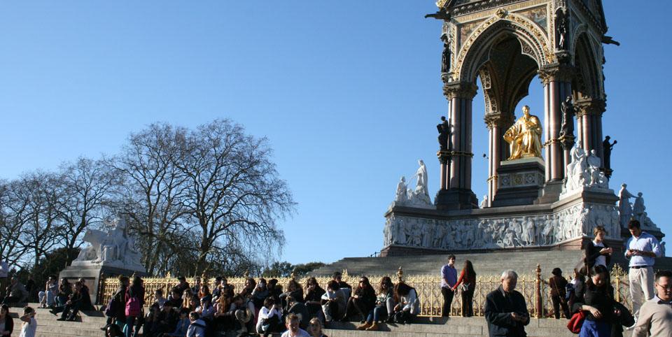 Patinar por Hyde Park Albert Memorial