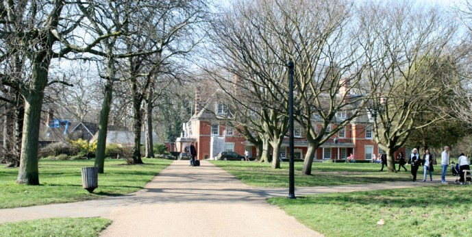 Patinar por Hyde Park