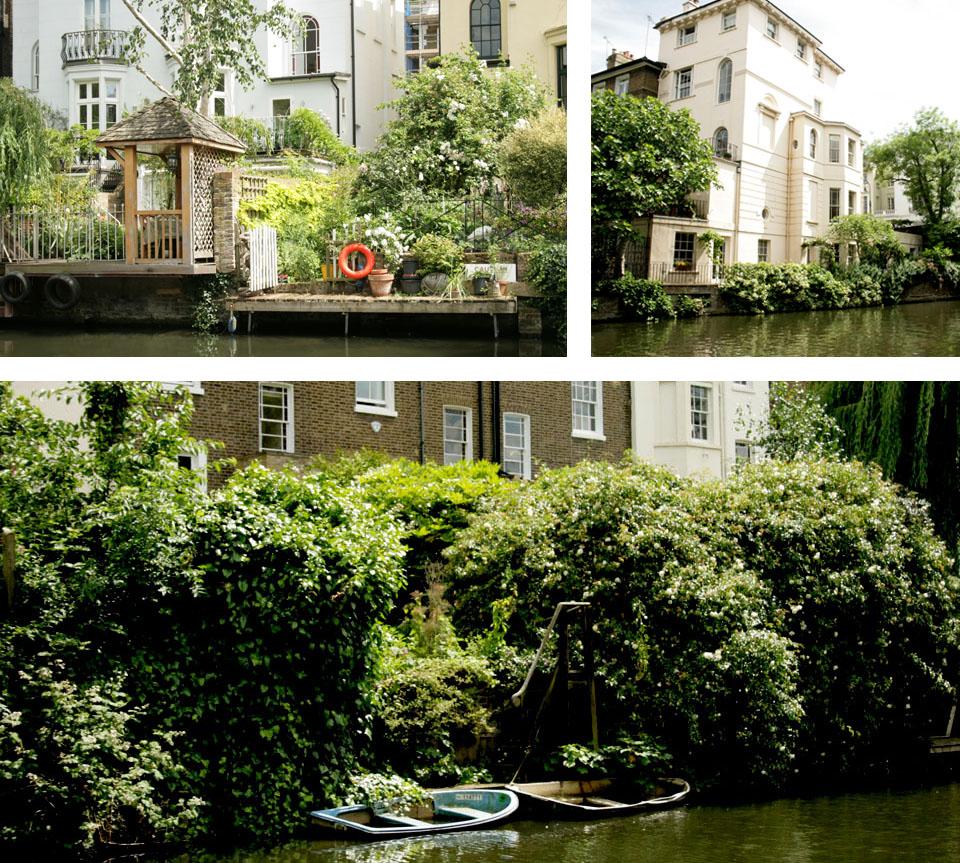 Canal de Camden Town casas