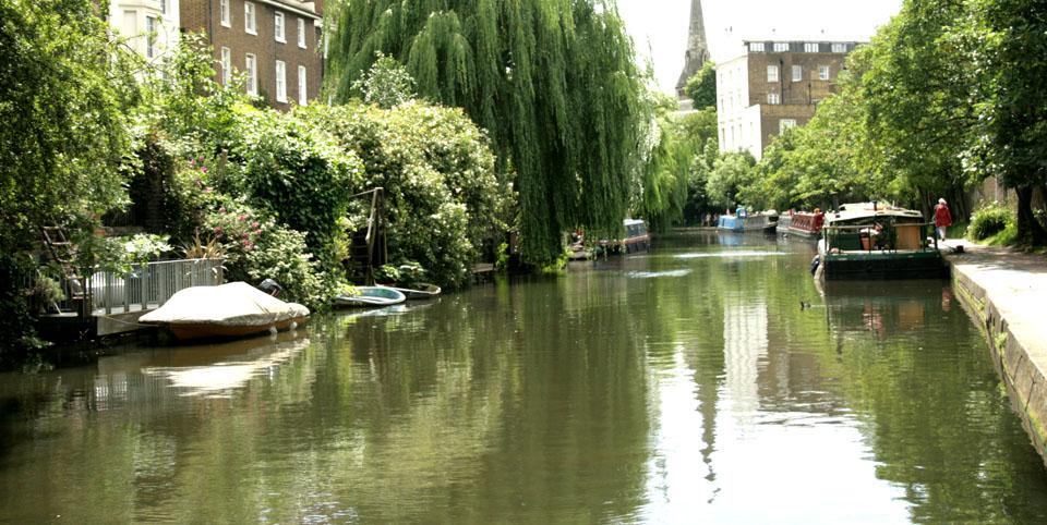 Canal de Camden Town barcas