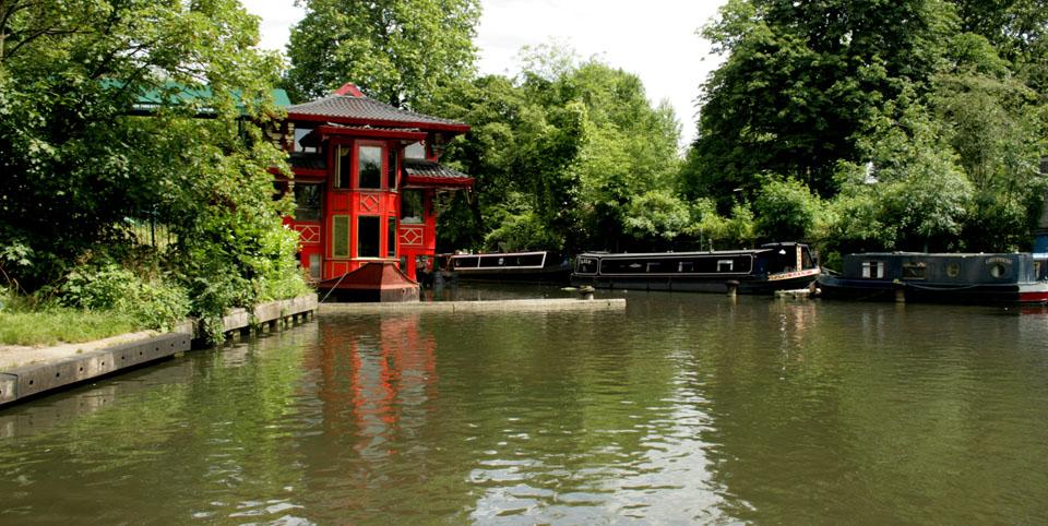 Canal de Camden Town restaurante chino