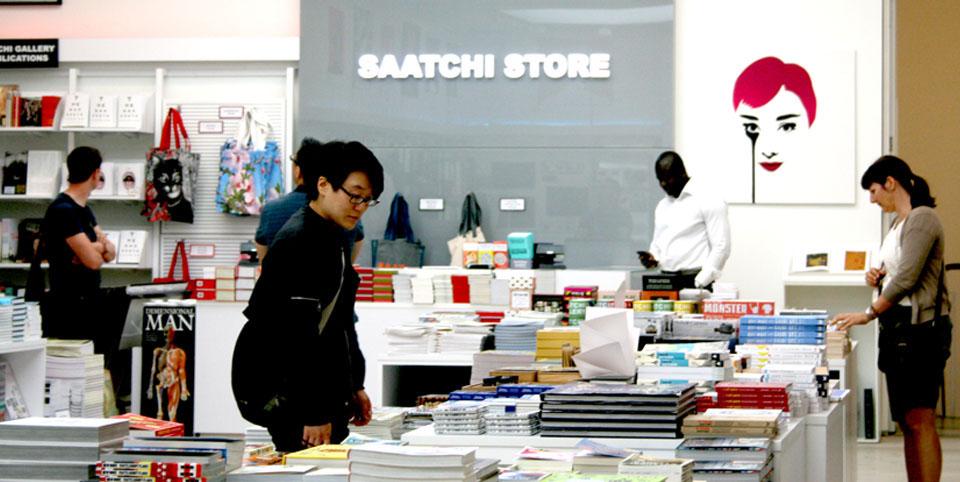 Saatchi gallery de Londres tienda