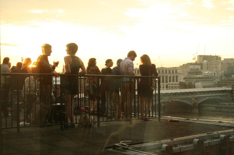 fotos members room tate modern terraza