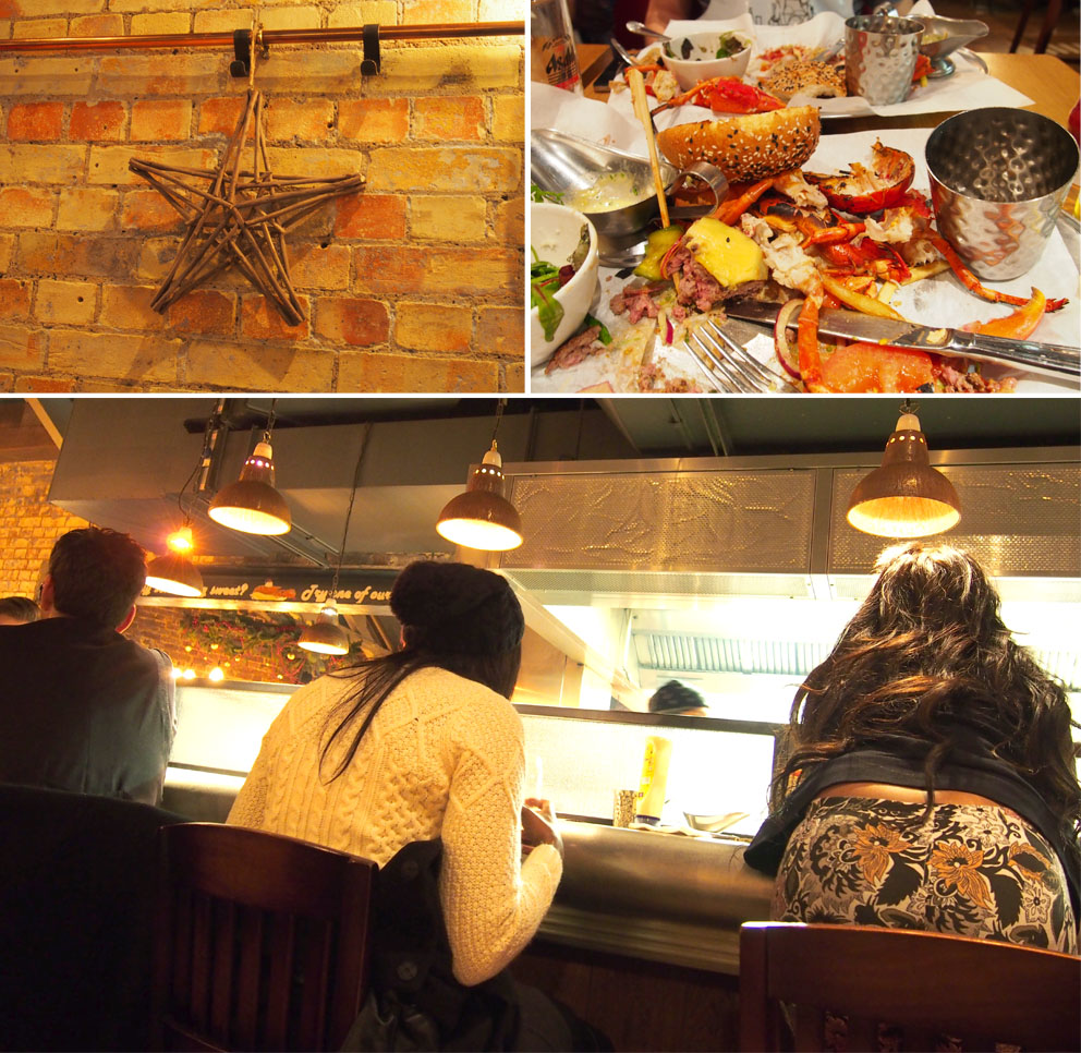 Burger & Lobster en Londres interior