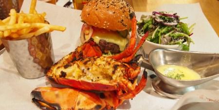 Burger & Lobster en Londres langosta