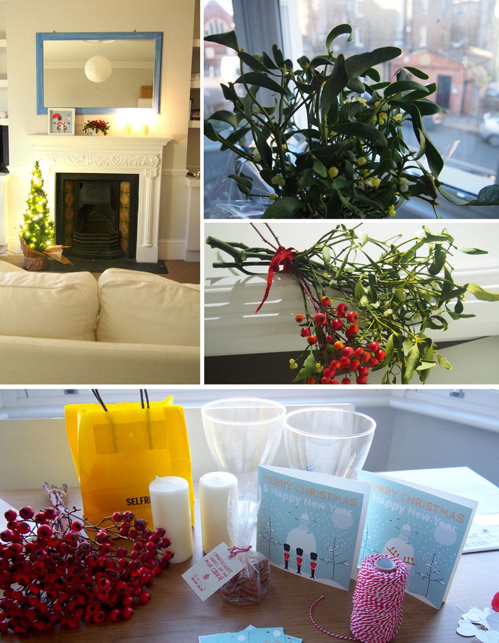 Dónde comprar decoración de Navidad en Londres casa