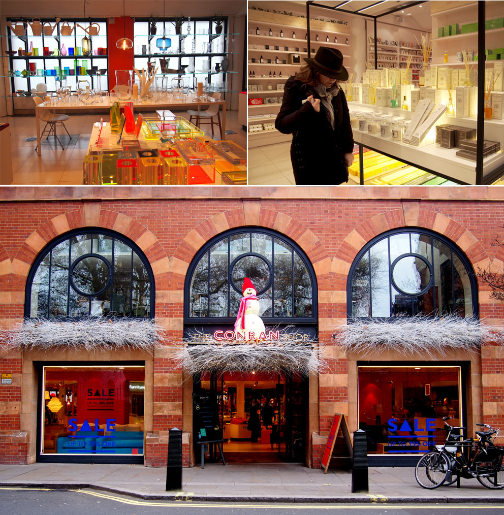 Tiendas en Marylebone Londres The Conran Shop