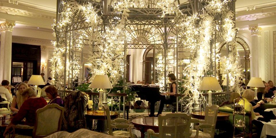 Donde tomar el afternoon tea en Londres pérgola Savoy