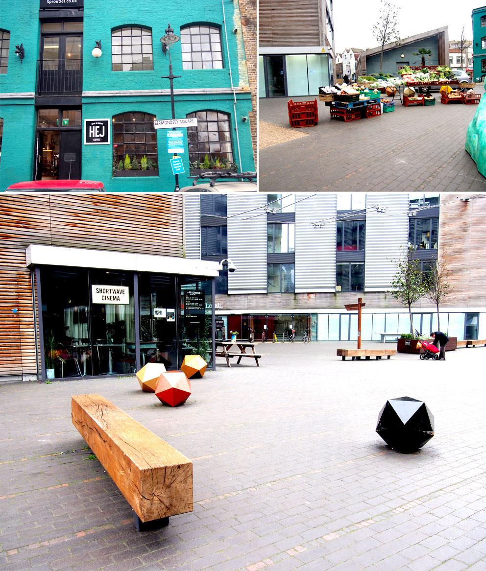 Maltby Street Market en Ropewalk bermondsey square