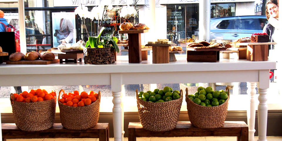 Paseo por Chelsea fruta