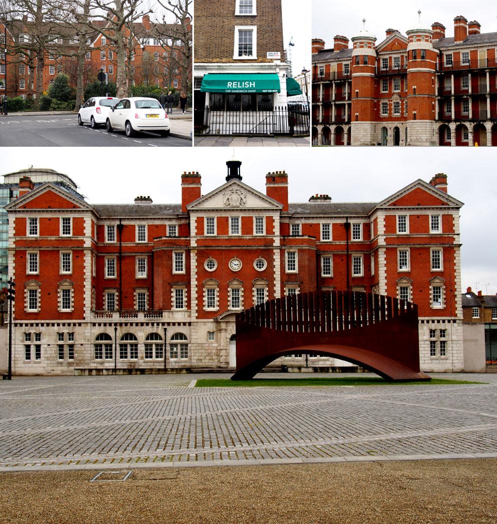 Tate Britain alrededores