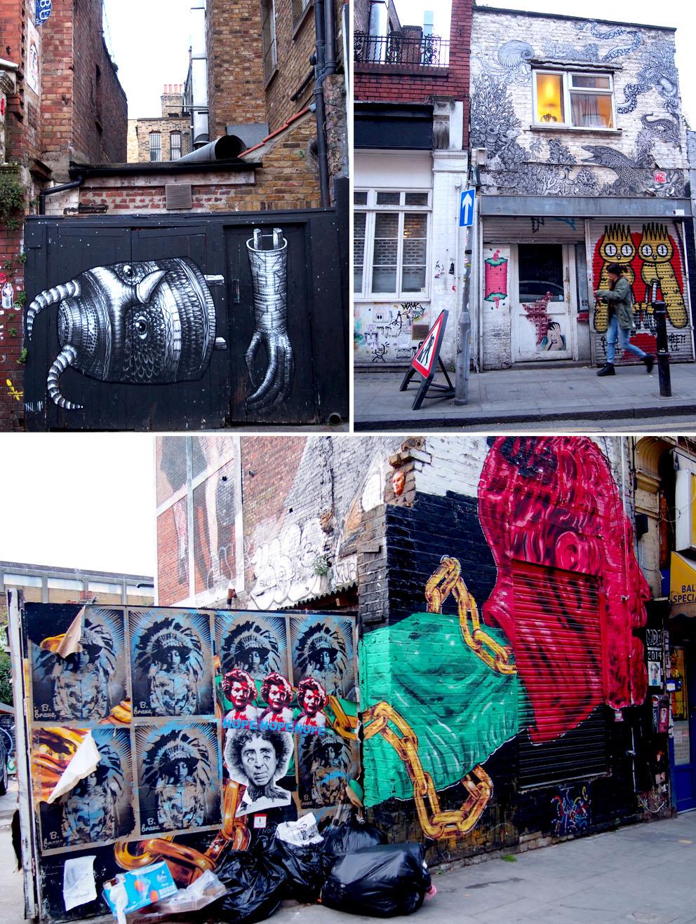 First Thursdays de Londres Arte Urbano
