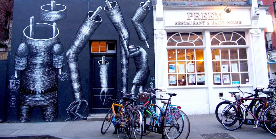 First Thursdays de Londres pintadas