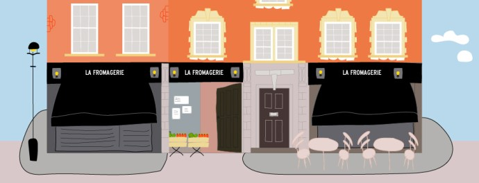 Dibujo La Fromagerie Londres