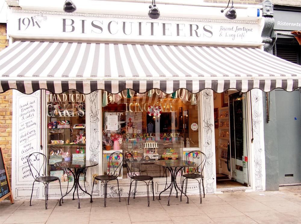 Qué ver en Notting Hill biscuiteers