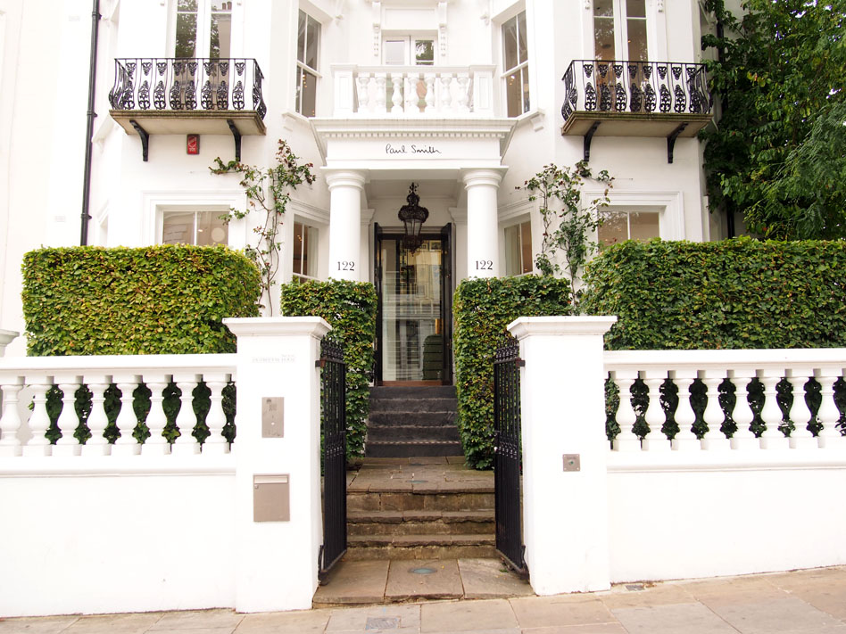 Qué ver en Notting Hill paul smith
