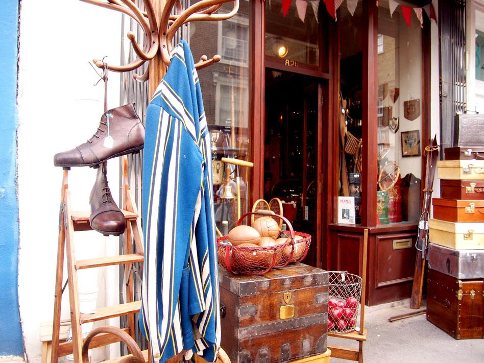 Qué ver en Notting Hill antigüedades
