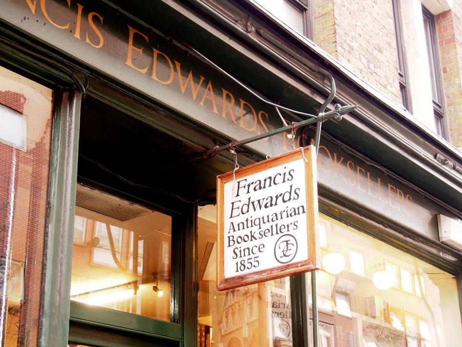 Las mejores librerías de Londres Charing Cross Rd