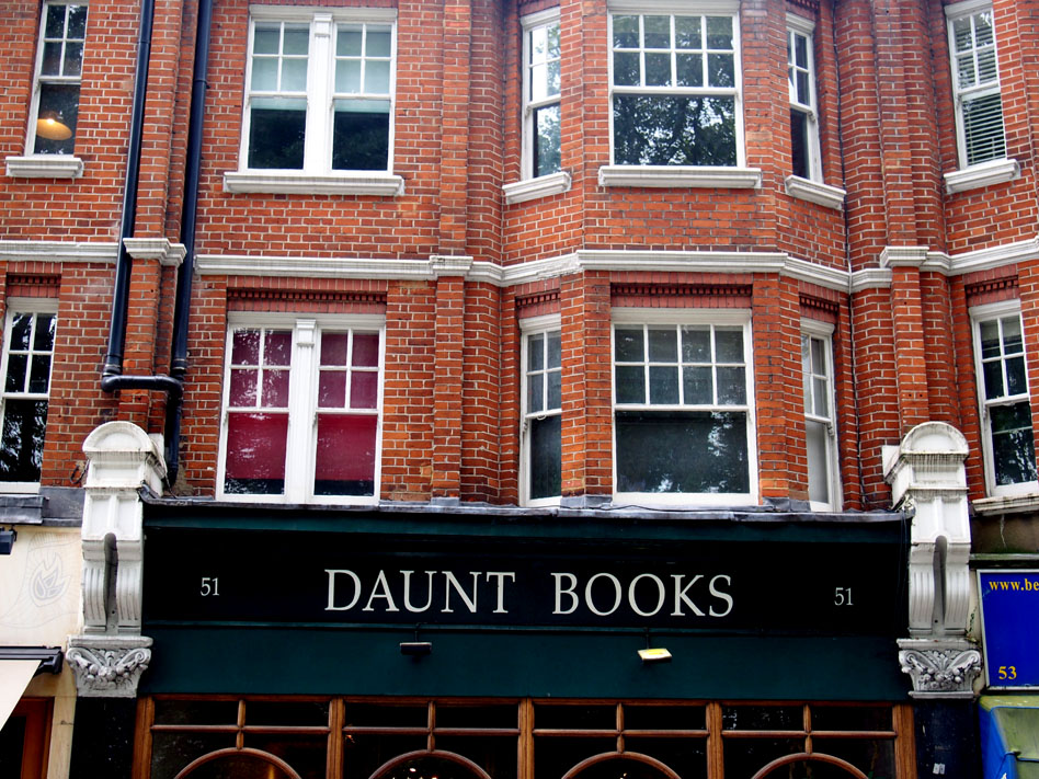 Las mejores librerías de Londres Daunt Books