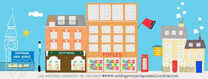 las mejores librerías de londres Dibujo