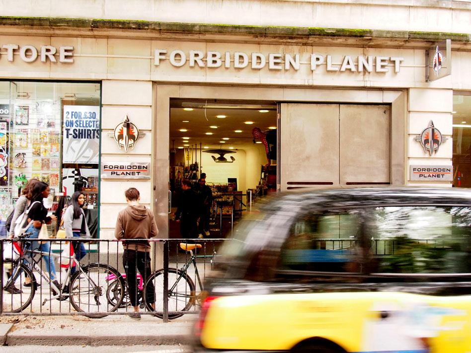 Las mejores librerías de Londres forbidden planet
