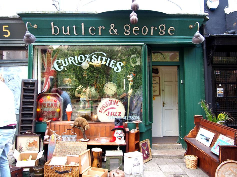 Anticuarios de Inglaterra Butler and George