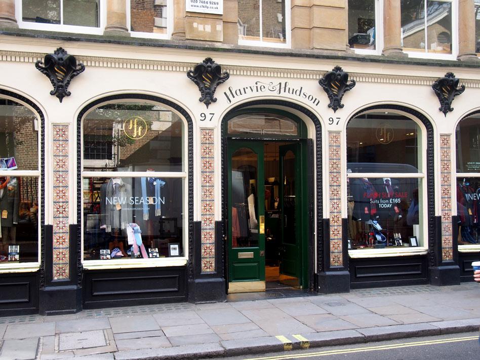 ropa estilo British para hombre en Londres Harve and Hunson