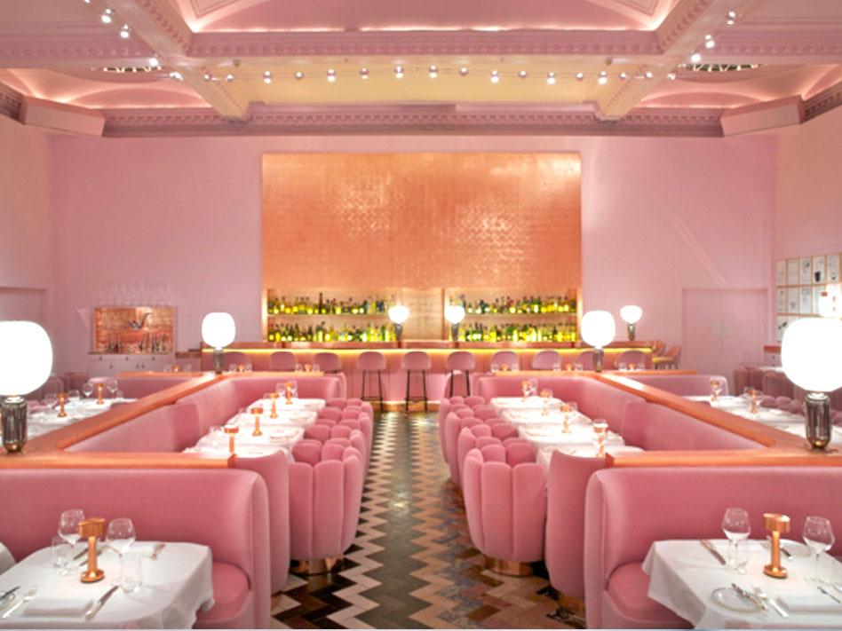 restaurante de moda de Londres the Gallery