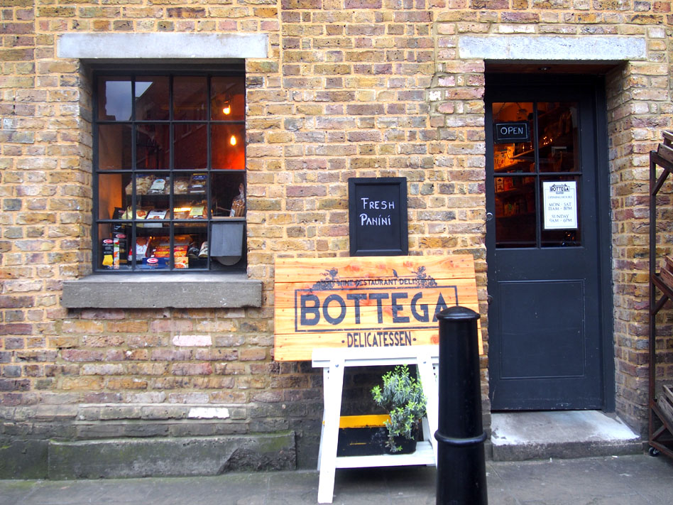 Annie Leibovitz en Londres wapping restaurante wapping