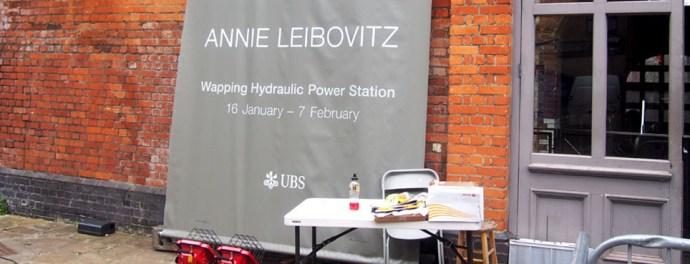 Annie Leibovitz en Londres