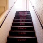 Barber & Parlour en Shoreditch Escalera peluquería