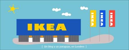 Cómo ir a Ikea de Londres en transporte público Dibujo