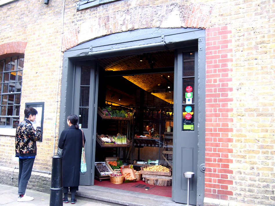 Annie Leibovitz en Londres wapping tienda