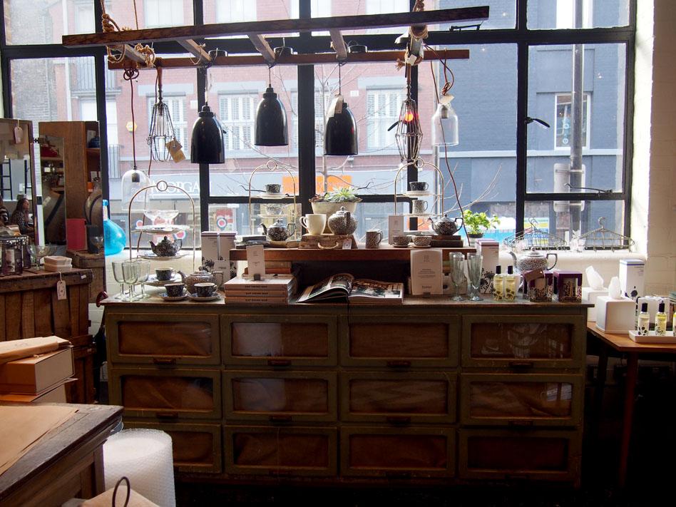 Barber & Parlour en Shoreditch tienda