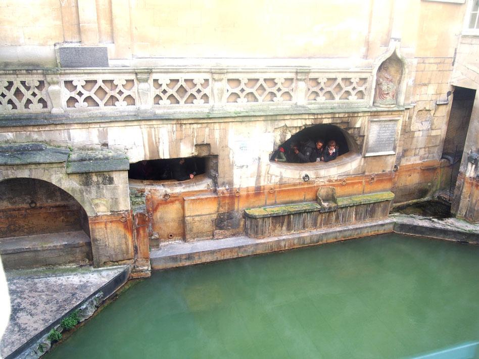 qué ver en Bath termas