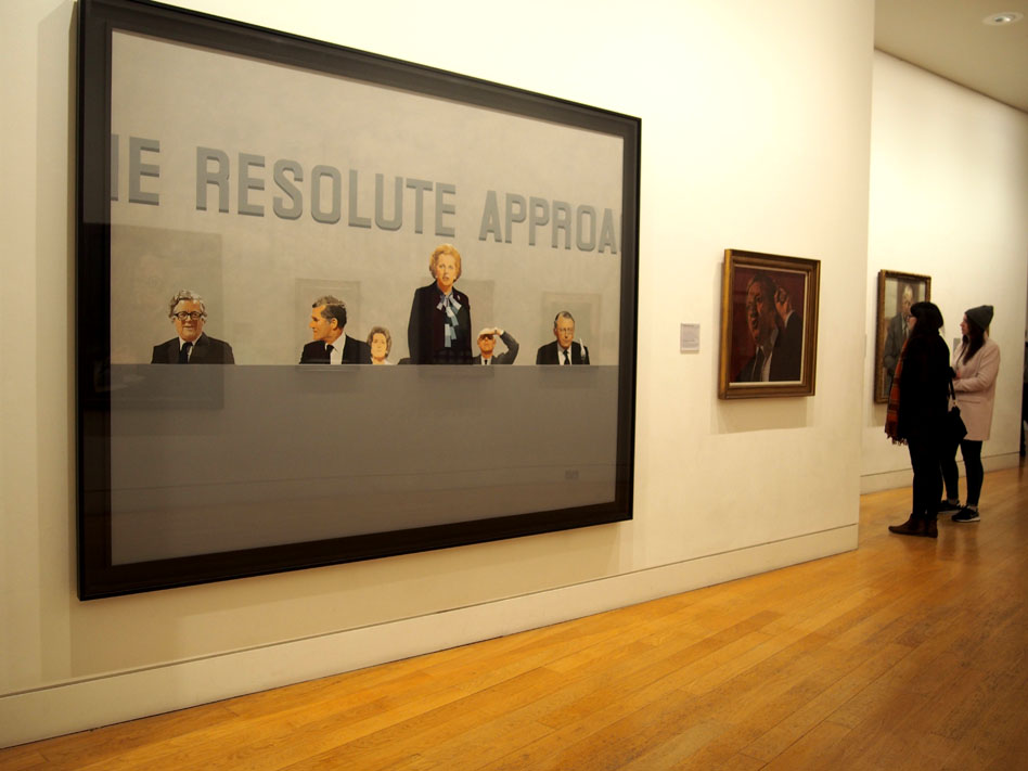 NAtional Portrait Gallery de Londres arte contemporaneo