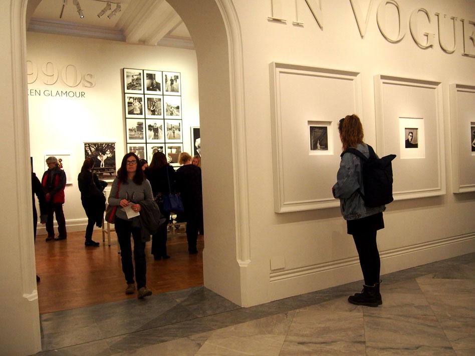 NAtional Portrait Gallery vogue 100